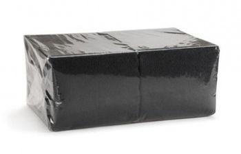 Салфетки Fesko Standart, 1 слой, 300 шт, (черные).