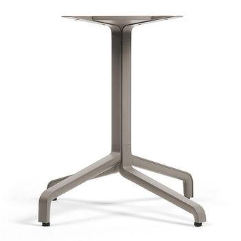 Picior (baza) de masa aluminiu Nardi BASE FRASCA MAXI FIX vern. tortora 53659.00.000