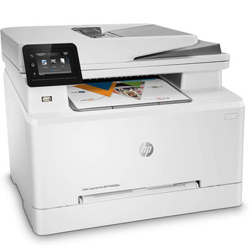 HP Color LaserJet Pro MFP M283fdn Color Printer/Color Copier/Color Scanner/Fax, A4, Net Card, ADF, Duplex, 600 x 600 dpi, HP ImageREt 3600, 21 ppm, 256Mb, USB 2.0, Cartridges HP 207A (W2210A, W2211A, W2212A, W2213A)
