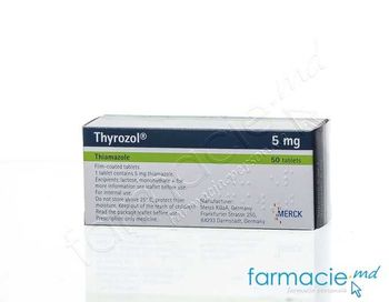 купить Thyrozol® comp. film. 5 mg N10x5 в Кишинёве