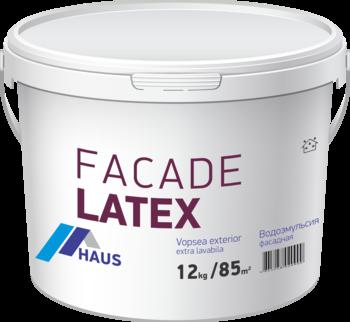 Краска водоэмульсионная фасадная Haus Latex 1,2 кг