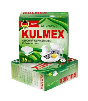 Таблетки для посудомоечной машине Kulmex All-in-one 36 шт.