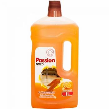 cumpără Solutie pentru curatarea podelelor din lemn si laminat Passion Gold 1000 ml în Chișinău