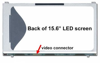 """Display 15.6"""" LED Slim 40 pins HD (1366x768) Matte LTN156AT19-00"""
