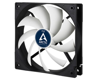 Case/CPU FAN Arctic F12, 120x120x25 mm, 3-pin, 1350rpm, Noise 0.3 Sone (@ 1350 RPM), 53CFM (90.1 m3/h)