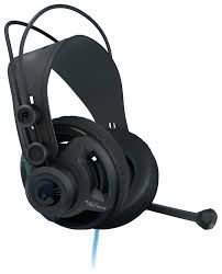 ROCCAT Renga / Studio Grade Over-ear Stereo Gaming Headset, Rotatable Microphone, In-cable Remote, 50mm driver units, Earcup ventilation, Powerful bass, Multi-platform support (compatibility for PC/PS4/XBOX/mobile), 3.5mm jack, Black