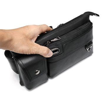 купить Мужская поясная сумка из натуральной кожи в Кишинёве