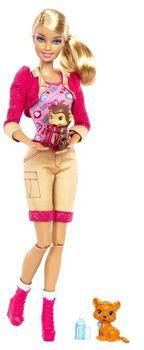 """Барби кукла """"Смотритель зоопарка"""""""