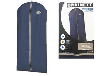 Чехол для одежды 65X135cm тканевый, голубой