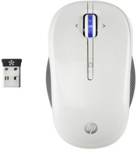 HP X3300 White  Wireless Mouse