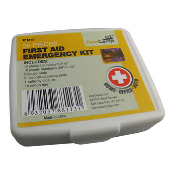 купить Аптечка AceCamp 36-pieces First Aid Kit, 8113 в Кишинёве