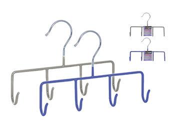Вешалка металлическая 4 крючка MSV