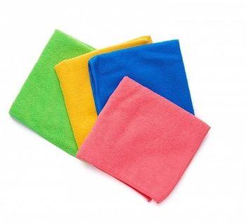 Microfibra Plus - Набор салфеток 4 цвета 36х40 см