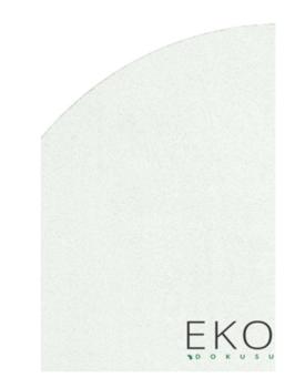 Ковёр ручной работы E-H COMFORT SHAGGY 1006 WHITE Q 160