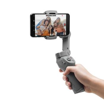 (xxxxxx) Stabilizer for Smartphone OSMO Mobile 3 Combo, Foldable & Portable, Mobile Phone Width Range 62-88 mm, Bluetooth Low Energy 5.0, Battery Li-ion 2450 mAh, 15 hours battery life, 405g, Grey (Osmo Grip Tripod+Osmo Carrying Case)