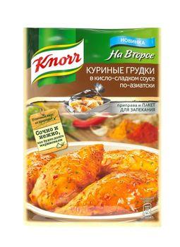 купить Куриные грудки в кисло-сладком соусе по-азиатски Knorr, 28 гр. в Кишинёве