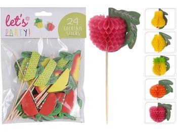 "Set spadite ""fructe"" 24buc, 10cm"