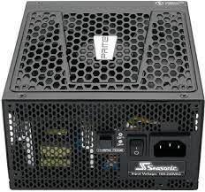 Блок питания ATX 650W Seasonic Prime Ultra 650 80+ Platinum, полностью модульный, без вентилятора до 40% нагрузки