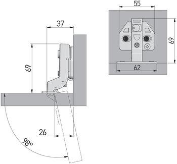 Balama încadrată cu amortizor 3D GTV