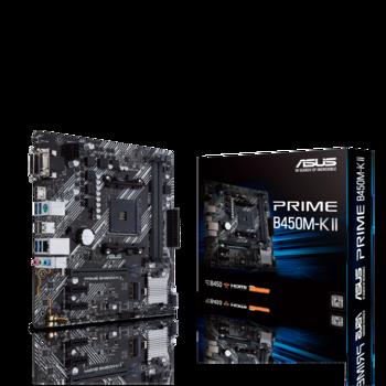 MB AM4 Asus PRIME B450M-K II  mATX