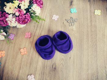 Носочки фиолетовые