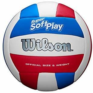Мяч волейбольный SUPER SOFT PLAY  VB WHRDBLUE WTH90219XB Wilson (2162)