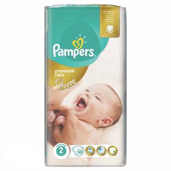 купить Pampers подгузники Premium Care 2, 3-6кг. 50 шт в Кишинёве