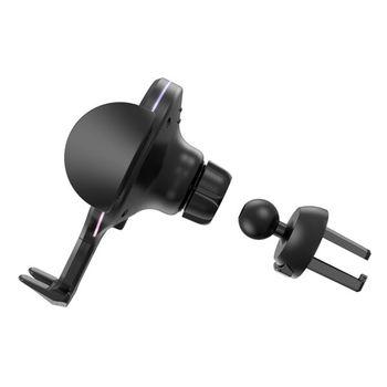 купить Автодержатель Hoco CA60 Aspiring infrared sensor wireless charging car holder в Кишинёве