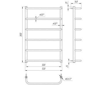 Стандарт HP 800x530/500