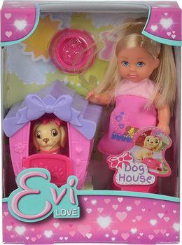 купить Simba Кукла Эви с сабакои,12 см в Кишинёве