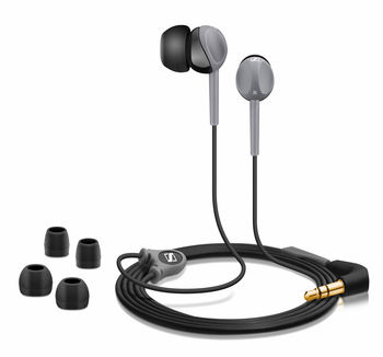 Headphones Sennheiser CX 200 Street II Black, 20—20000Hz, 16ohm, SPL:110dB, dinamic, cable 1.2m