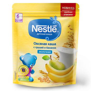 купить Каша овсяная-груша-банан с молоком Nestle, с 6 месяцев, 220г в Кишинёве