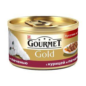 купить Gourmet Gold (с курицей и печенью), 85гр в Кишинёве