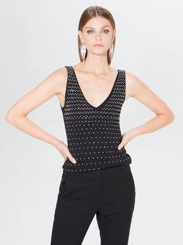 Блуза MOHITO Чёрный