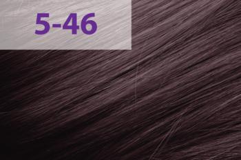 Краска для волос,ACME jNowa Siena CS, 90 мл., 5/46 - красно-фиолетовый средне коричневый