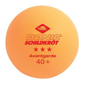 Мячики для наст. тенниса (3 шт.) Donic 3*** Avantgarde 40+ 608334 (4334)