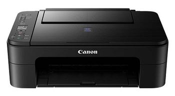 MFD Canon Pixma E3140 Black, Colour Printer/Scanner/Copier/Wi-Fi, A4, Print 4800x600dpi_2pl, Scan 600x1200dpi, ESAT 8.0/4.0 ipm, 64-275г/м2, Cassette: 60 sheets, USB 2.0, 2 x  Ink Cartridge PG-46 (400p), CL-56 (300p)_Optional PG-46XL, CL-56XL