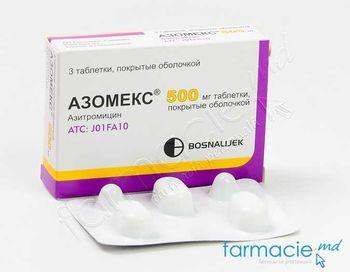 cumpără Azomex® comp. film. 500 mg N3 în Chișinău