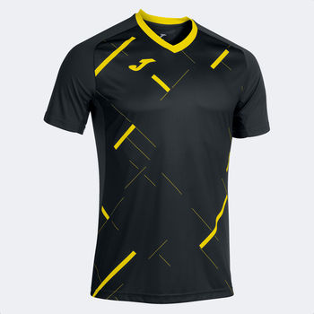 Футболка JOMA -  TIGER III T-SHIRT BLACK YELLOW
