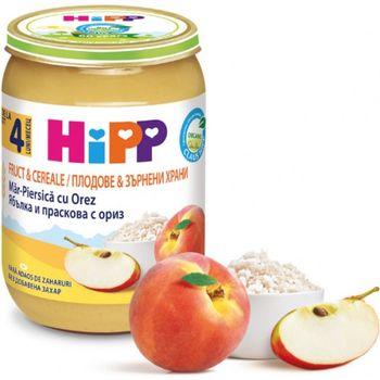 купить Hipp пюре из цельного риса с фруктами, 4+мес, 190 гр в Кишинёве