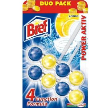 купить Bref WC с ароматом лимона Duo Pack, 2 x 50 г в Кишинёве