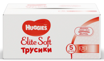 купить Трусики Huggies Elite Soft Pants  BOX  5  (12-17 kg), 76 в Кишинёве