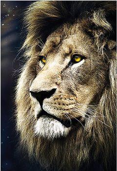 """26139 Puzzles - """"1500"""" - Lions portrait"""