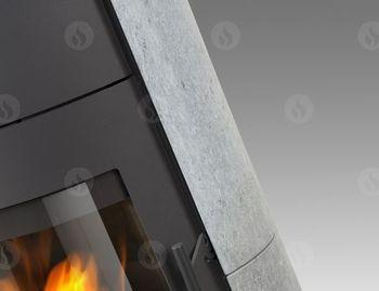 Каминная печь аккумуляционная ROMOTOP EVORA 02 AKUM (камень)