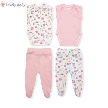 Набор для новорожденных розовый
