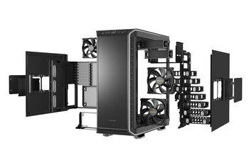 Case ATX be quiet! Dark Base 900, w/o PSU, 3x120mm, 2xUSB 2.0, 2xUSB3.2, Fan controller,Black/Silver