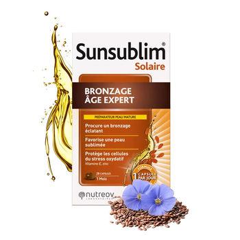 cumpără Nutreov Sunsublim Bronzage Age Expert caps. N28 în Chișinău