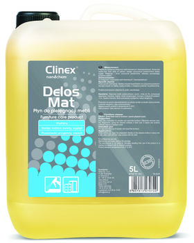 Clinex Delos Mat 5л для ухода за мебелью