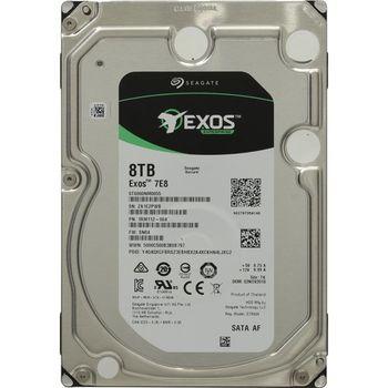 "3.5"" HDD 8.0TB  Seagate ST8000NM0055  Server Exos™ 7E8  512E/4K, 7200rpm, 256MB, SATAIII"