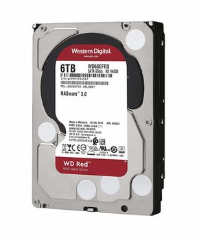 купить Жесткий диск 3.5'' HDD 6.0TB  Western Digital WD60EFRX Caviar® Red™ NAS, IntelliPower, 64MB, SATAIII в Кишинёве